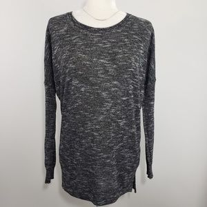 Cotton On Heather Gray Long Sleeve Sweater, Size S
